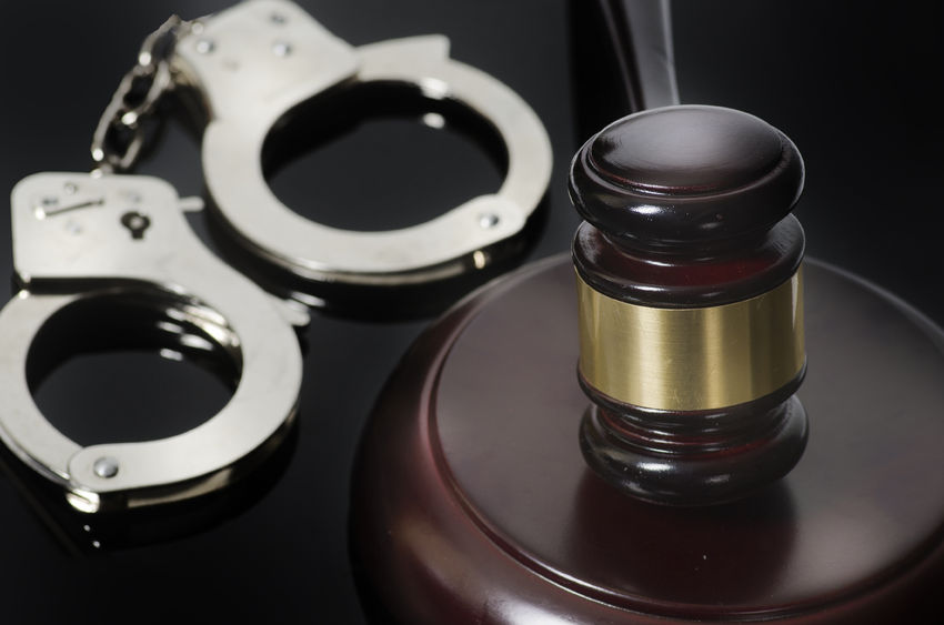 handcuffs jail