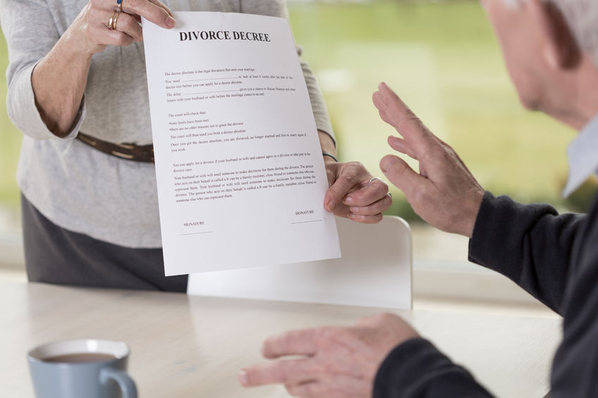virginia divorce papers