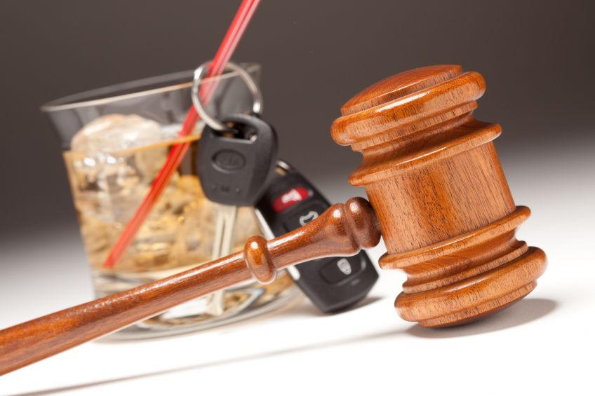 drink with keys and gavel