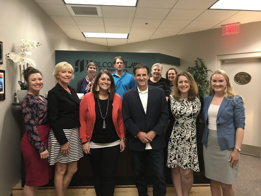 photo of the staff and attorney at Holcomb Law