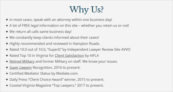 Why Choose Holcomb Law, P.C.