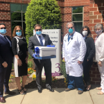 holcomb law donates face masks