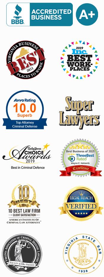 Awards & Memberships - Criminal Defense