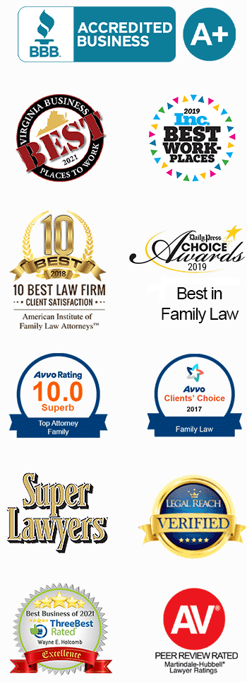 Awards & Memberships - Family Law