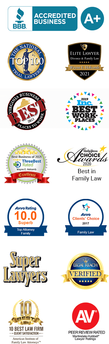 Awards & Memberships - Family Law