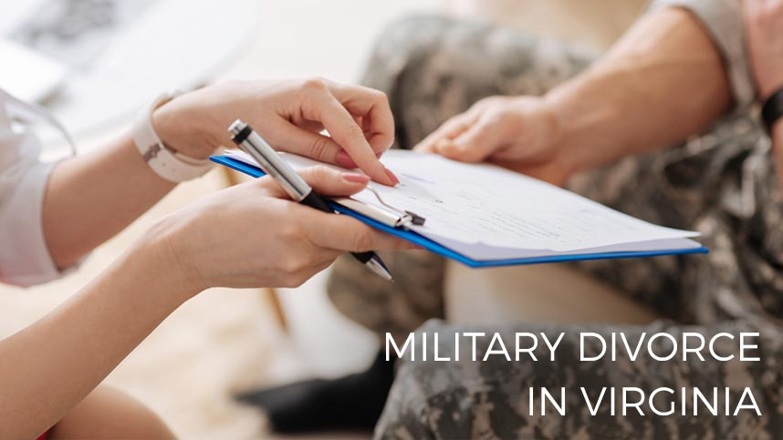 Photo: Filing for Divorce While in Military in Virginia